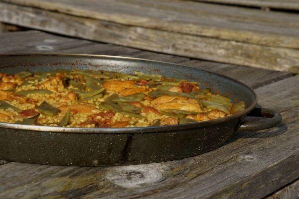 Chicken Paella Recipe 600x400